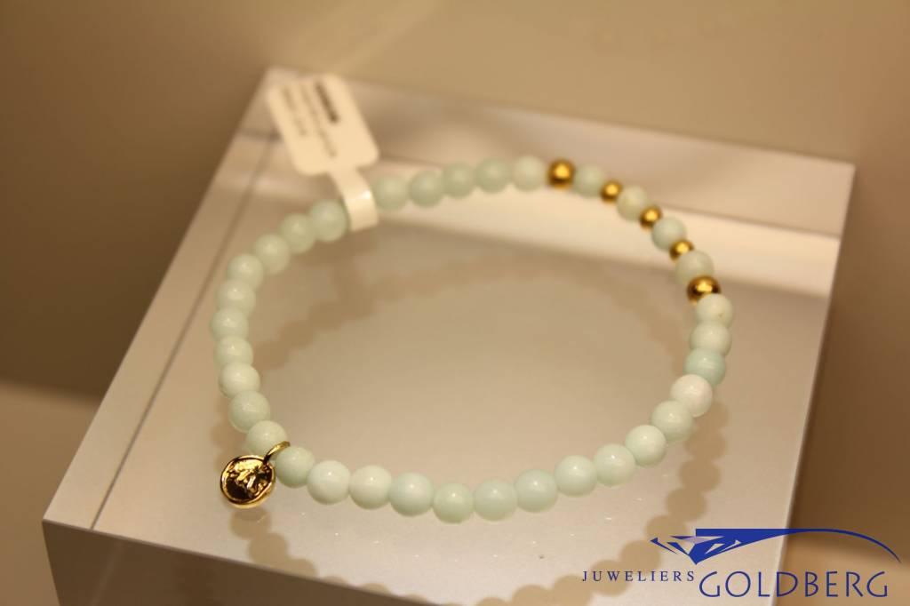 MAS Jewelz MAS bracelet amazonite gold model 2 M