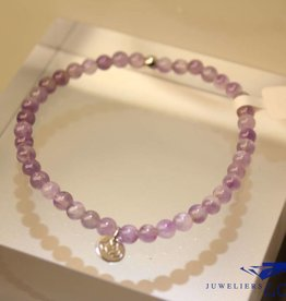 MAS Jewelz MAS bracelet amethyst silver model 1 M
