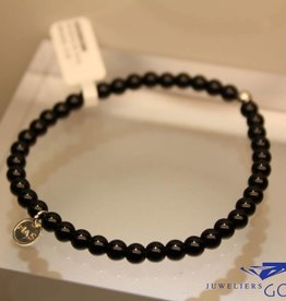 MAS Jewelz MAS armbandje blackstone zilver model 1 M
