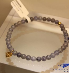 MAS Jewelz MAS bracelet blue quartz gold model 1 M