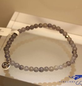 MAS Jewelz MAS bracelet blue quartz silver model 1 M