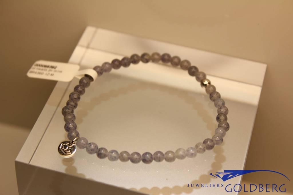 MAS Jewelz MAS bracelet blue quartz silver model 1 M