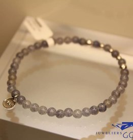 MAS Jewelz MAS bracelet blue quartz silver model 2 M