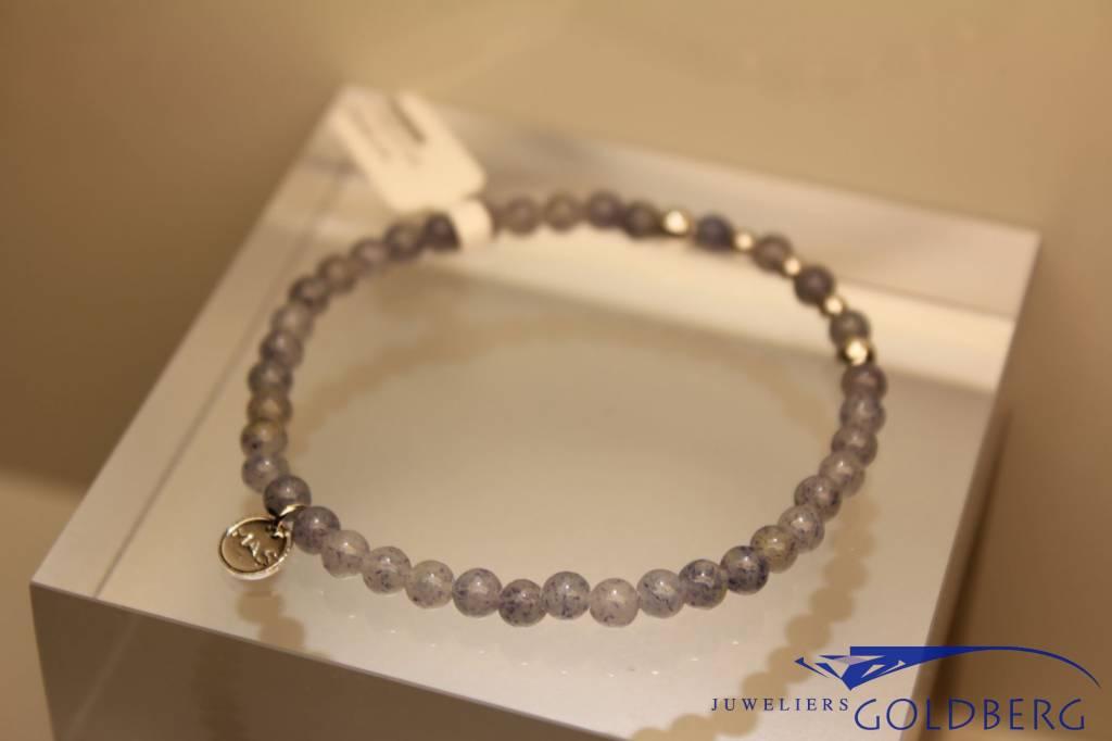 MAS Jewelz MAS bracelet blue quartz silver model 2 M