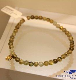 MAS Jewelz MAS bracelet labradorite gold model 1 M