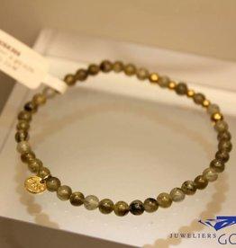 MAS Jewelz MAS bracelet labradorite gold model 2 M