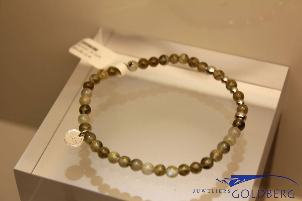 MAS Jewelz MAS bracelet labradorite silver model 2 M
