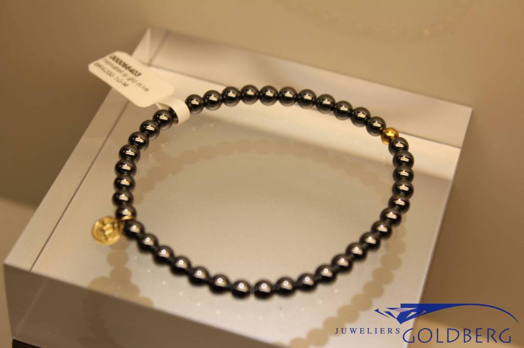 MAS Jewelz MAS bracelet hematite gold model 1 M
