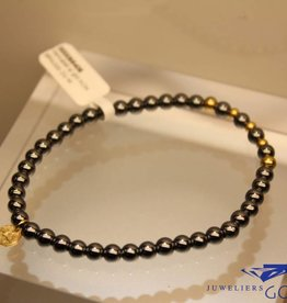 MAS Jewelz MAS bracelet hematite gold model 2 M