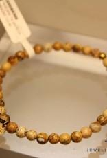 MAS Jewelz MAS bracelet landscape jasper gold model 1 M