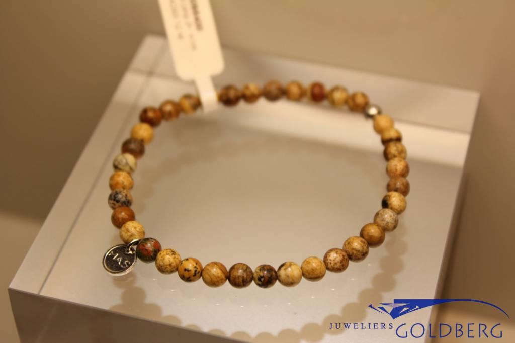 MAS Jewelz MAS bracelet landscape jasper silver model 1 M