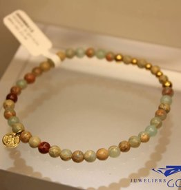 MAS Jewelz MAS bracelet serpentine gold model 2 M