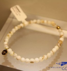MAS Jewelz MAS bracelet Mother of Pearl gold model 1 M