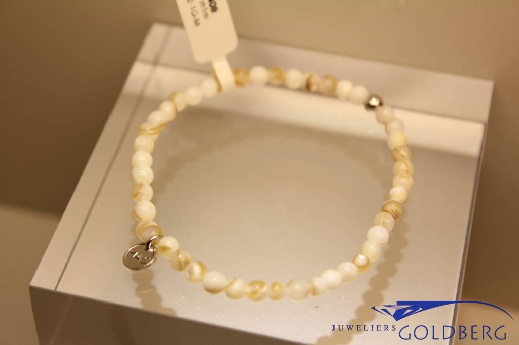 MAS Jewelz MAS bracelet Mother of Pearl silver model 1 M