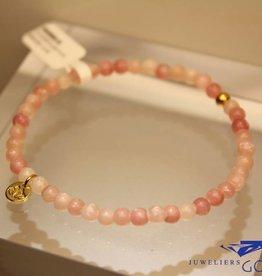 MAS Jewelz MAS armbandje roze opaal goud model 1 M