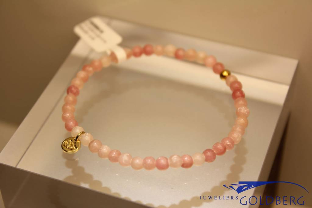 MAS Jewelz MAS bracelet pink opal gold model 1 M