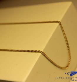 14 carat gold necklace gourmet link 1,35mm 42cm