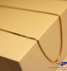 14 carat gold Venetian necklace 0,9mm 42cm