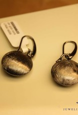 Sanjoya Silver short hanging grey earrings
