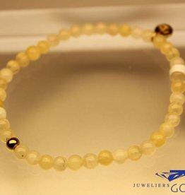 MAS Jewelz MAS armbandje calciet goud model 1 M