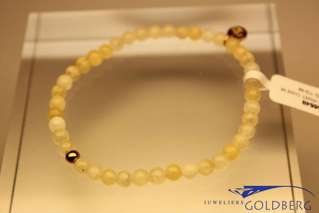 MAS Jewelz MAS bracelet calcite gold model 1 M