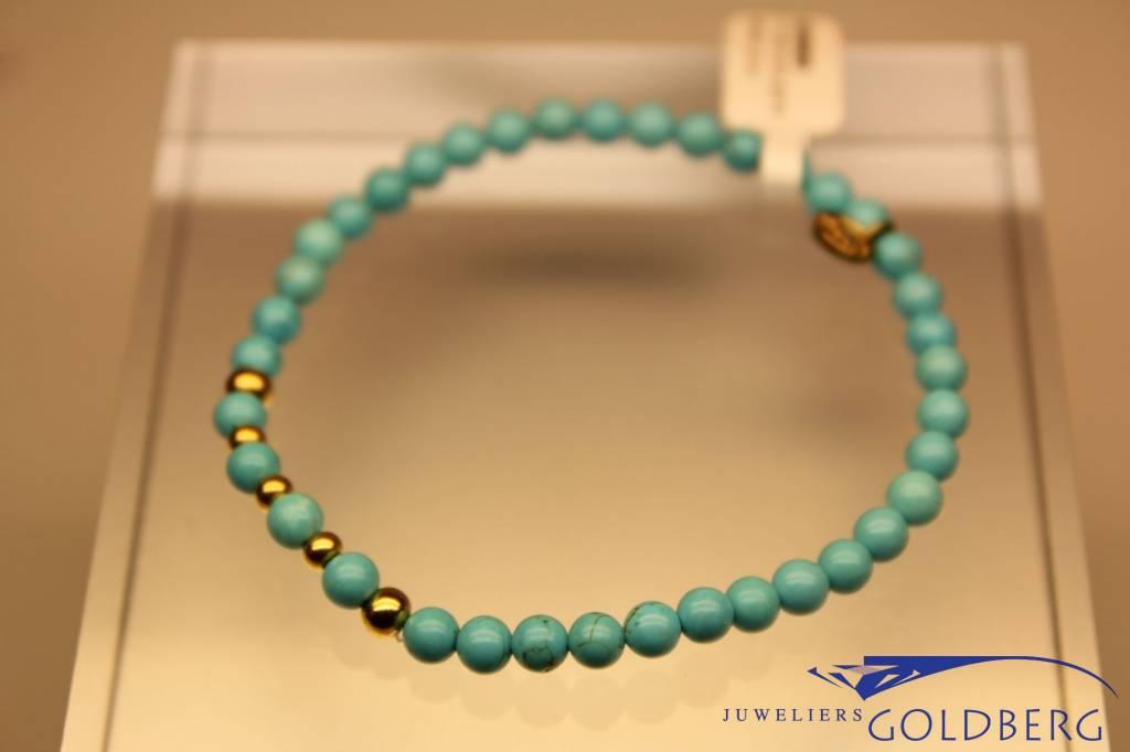 MAS Jewelz MAS bracelet turquoise gold model 2 M