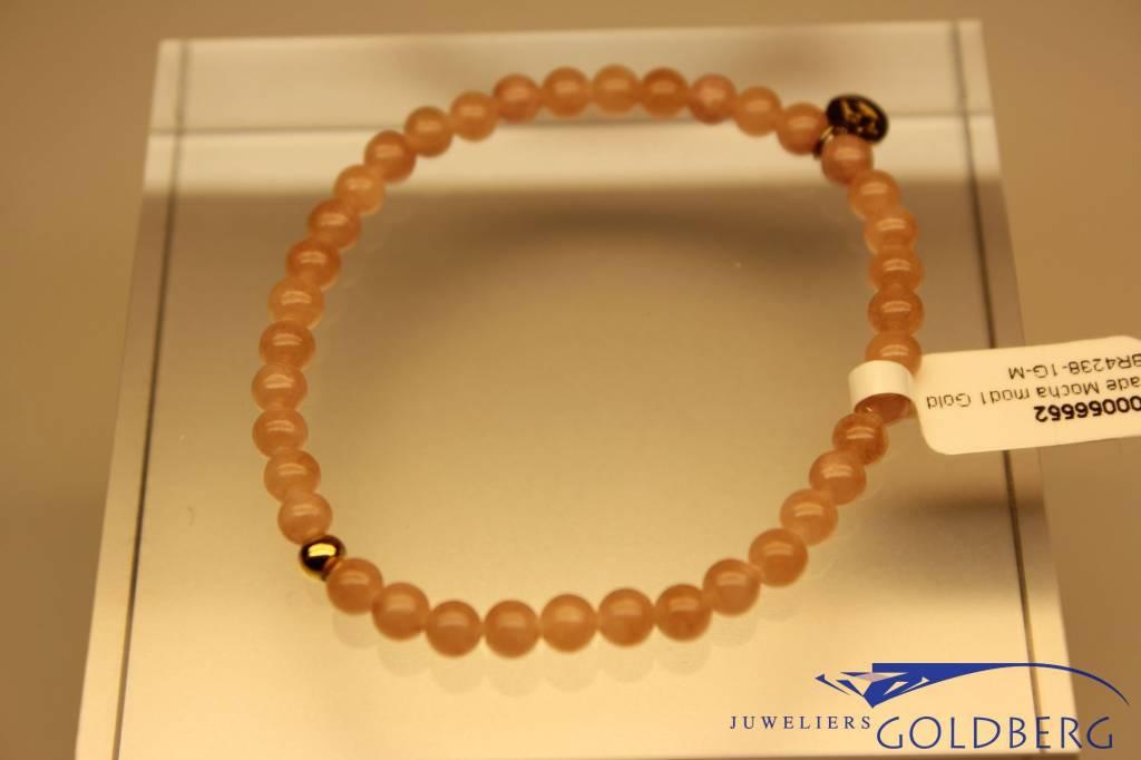 MAS Jewelz MAS bracelet Jade Mocha gold model 1 M