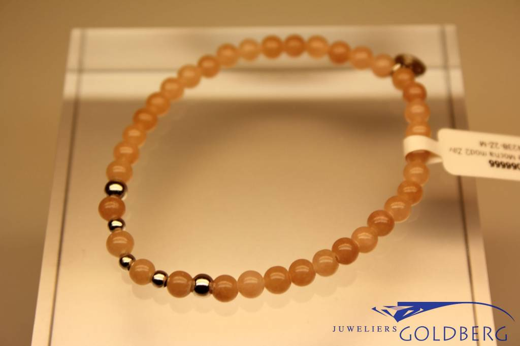 MAS Jewelz MAS bracelet Jade Mocha silver model 2 M