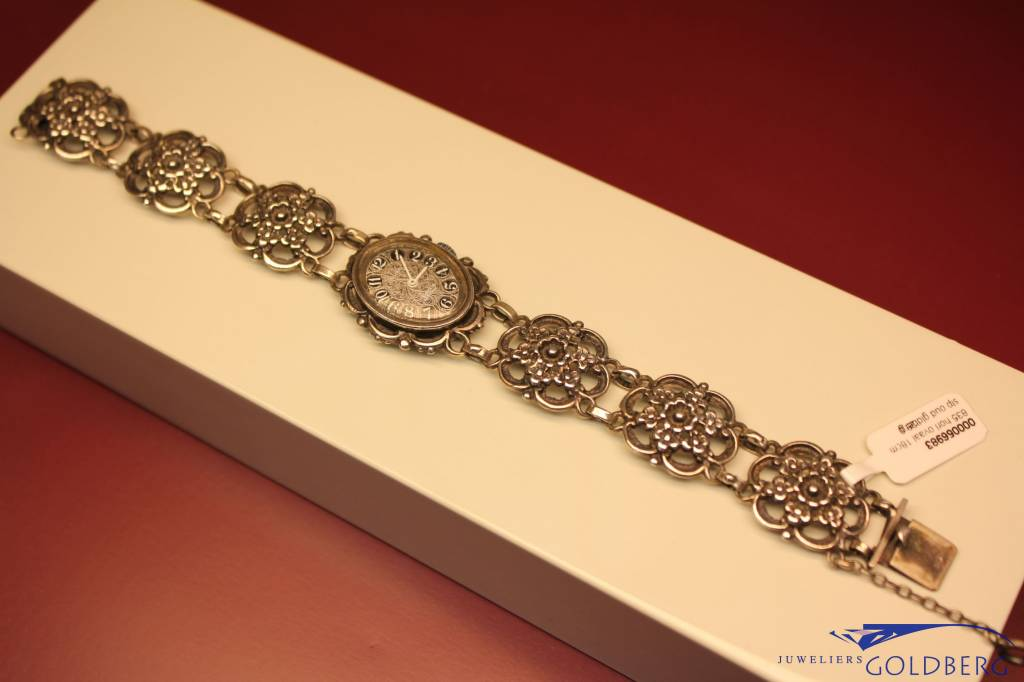 "Vintage silver ladies watch ""Rival"""