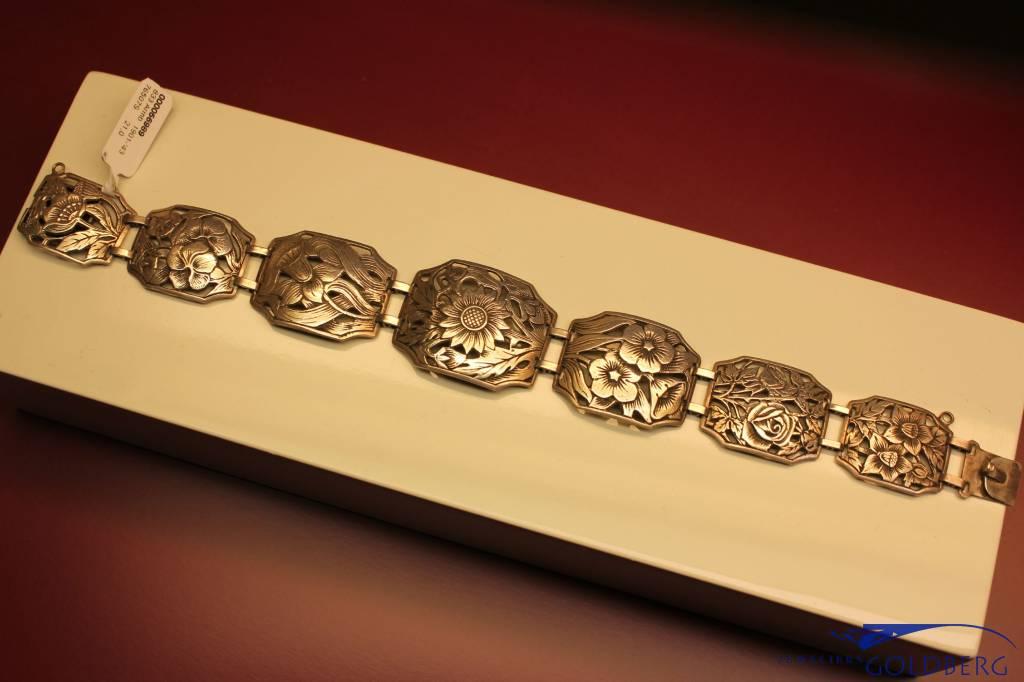 Antieke zilveren armband 1901-'43