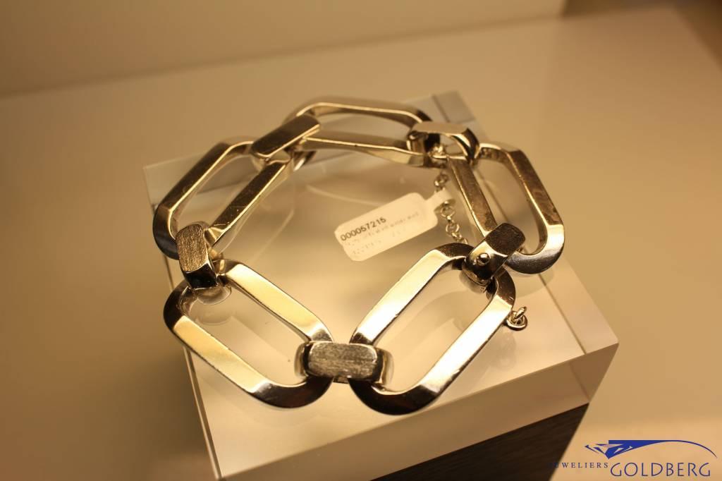 Heavy vintage silver bracelet