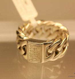 Vintage silver Buddha to Buddha mens ring