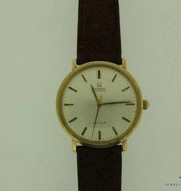 vintage gouden Omega De Ville 35mm horloge