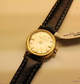 Vintage gold Jaeger leCoultre ladies watch 18mm