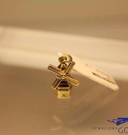 14 carat gold windmill pendant/charm