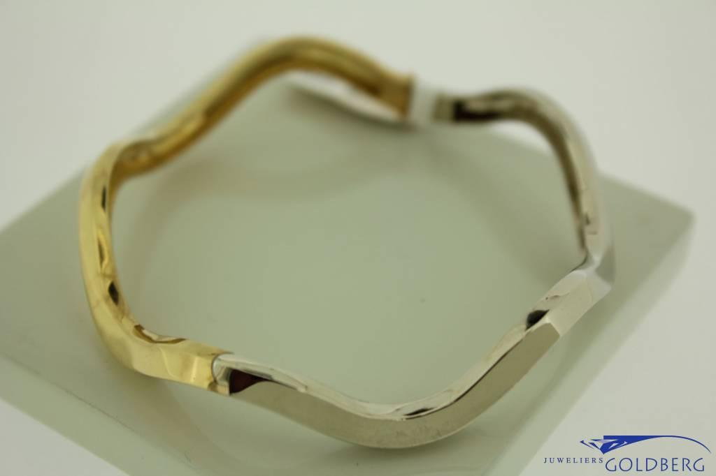18 carat gold bicolor Pomellato bracelet
