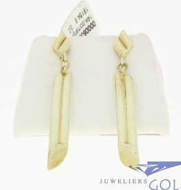 vintage design 14k earrings