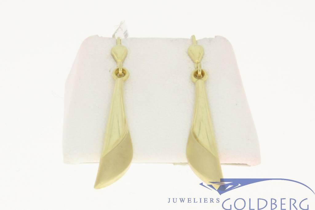 vintage 14k gold earrings