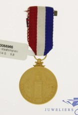 Gold Faithful Service Medal Dutch state mines