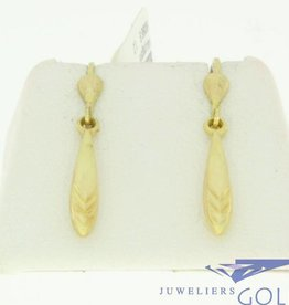nice vintage 14k gold earrings