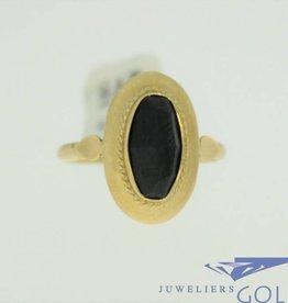 vintage 14k gold ring with garnet