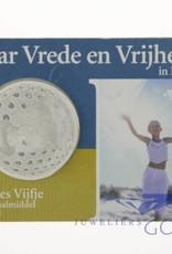 60 jaar Vrede en Vrijheid zilveren vijfje