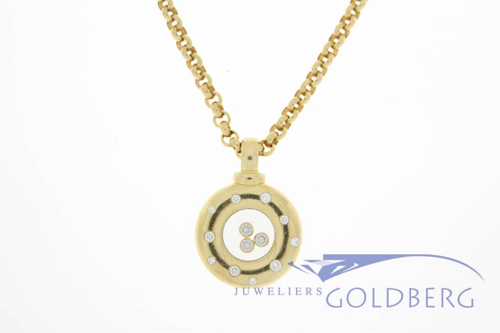 Chopard happy diamonds pendant and necklace 791868 20 goldberg chopard happy diamonds pendant and necklace 791868 20 aloadofball Gallery