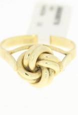 vintage 14k gold ring buttoned