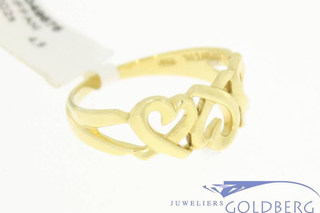 Vintage Tiffany & Co. gold ring