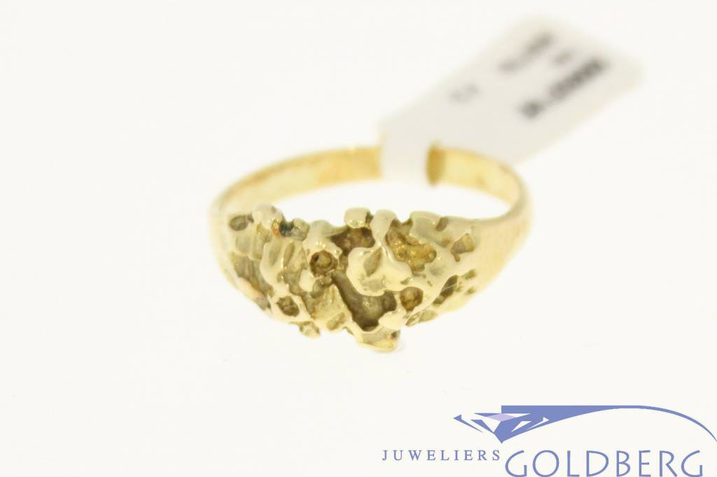 vintage 14k gold ring - Goldberg