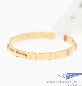 vintage 18k gold ring