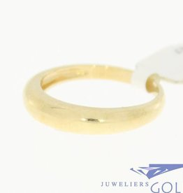 Vintage 14 carat gold smooth ring