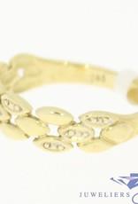 Vintage ring 14 carat gold with diamond