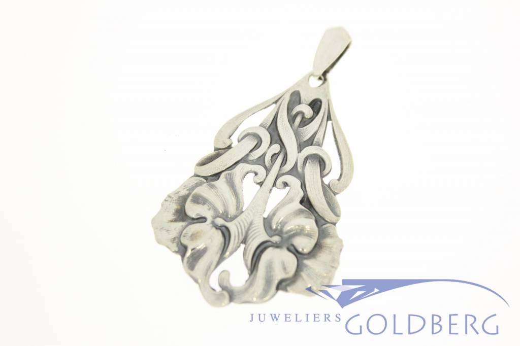 Antieke zilveren hanger Alex Meijer 1928-1953